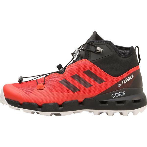 online retailer ef4c8 f90cd adidas Performance TERREX FAST GTX SURROUND Obuwie hikingowe hires redcore  blackgrey one - Czerwone buty sportowe męskie marki adidas Performance, ...