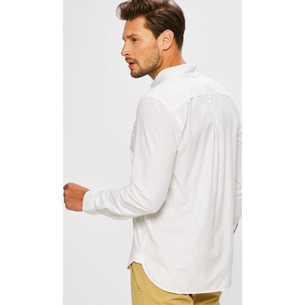 5fb93bb96 Lacoste - Koszula - Szare koszule męskie Lacoste, l, z bawełny ...