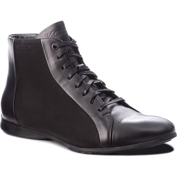 1d82d98c Trzewiki KAZAR - Joao 33528-04-00 Black - Czarne botki męskie marki ...