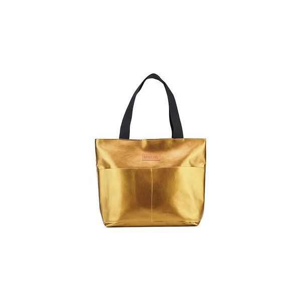 7622d36a015f Duża torba typu shopper Mili City Bag - brązowa - Torebki do ręki ...
