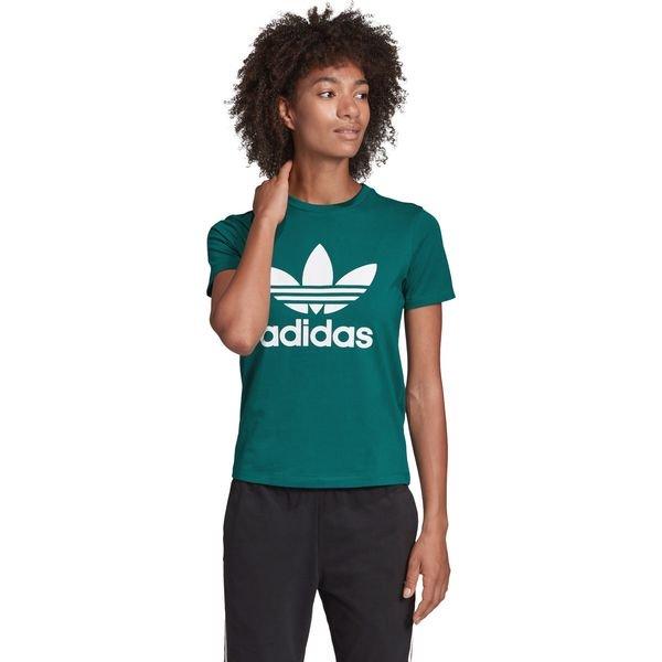 adidas Originals Trefoil Koszulka Niebieski