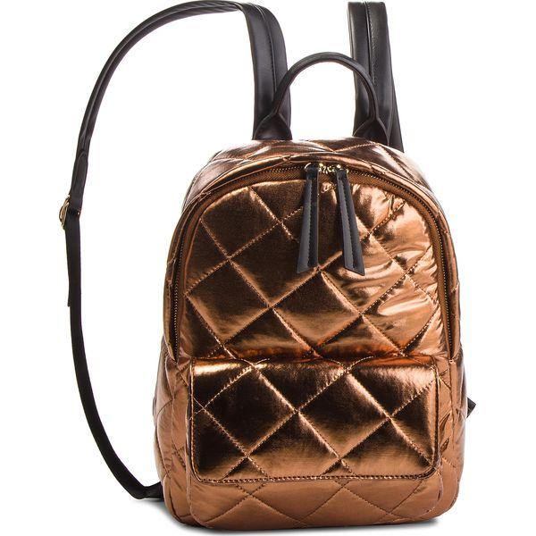 3c179b8992cb2 Plecak TWINSET - Zaino OA8TBQ Bronzo Lamin 03115 - Plecaki damskie ...