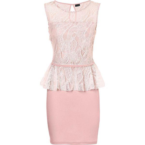 1a3527bad6 Sukienka koronkowa bonprix stary róż - Sukienki damskie marki ...