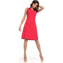 c435b40c11 Czerwona odzież damska na spotkanie biznesowe