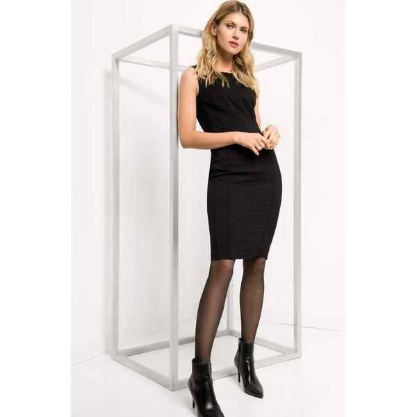 2675f3e5ce43e Dopasowana sukienka ze szwami - Sukienki damskie marki Orsay. W ...