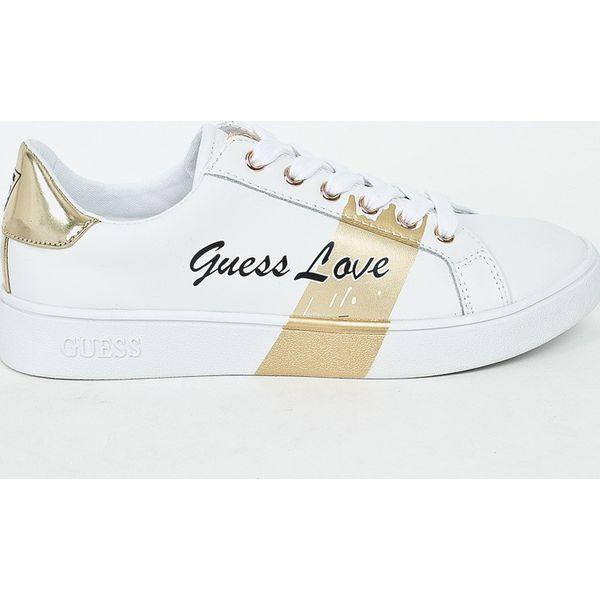 5f676f5b4a698 Guess Jeans - Tenisówki - Szare trampki i tenisówki damskie marki ...
