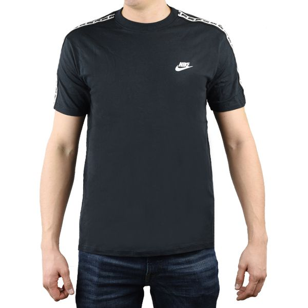 Nike Repeat Sportswear Tee AR4915 010 czarne M