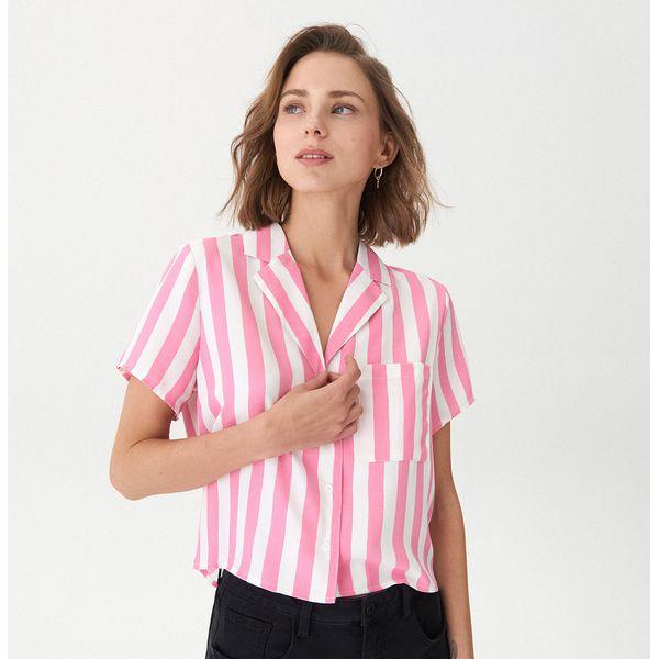 6ef0fc322566de Koszula vintage - Różowy - Koszule damskie House. W wyprzedaży za ...