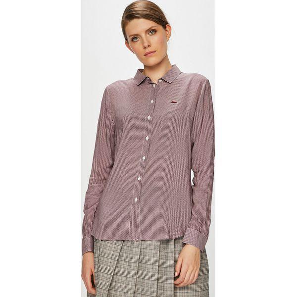 ce7dedf5a Lacoste - Koszula - Koszule damskie Lacoste. W wyprzedaży za 269.90 ...