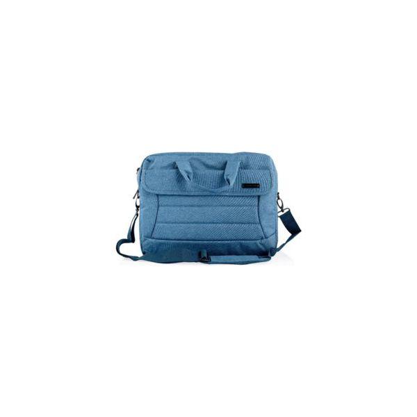 1f78cb1b35ba9 MODECOM CHARLOTTE 15 NIEBIESKA TORBA DO LAPTOPA - Niebieskie torby ...