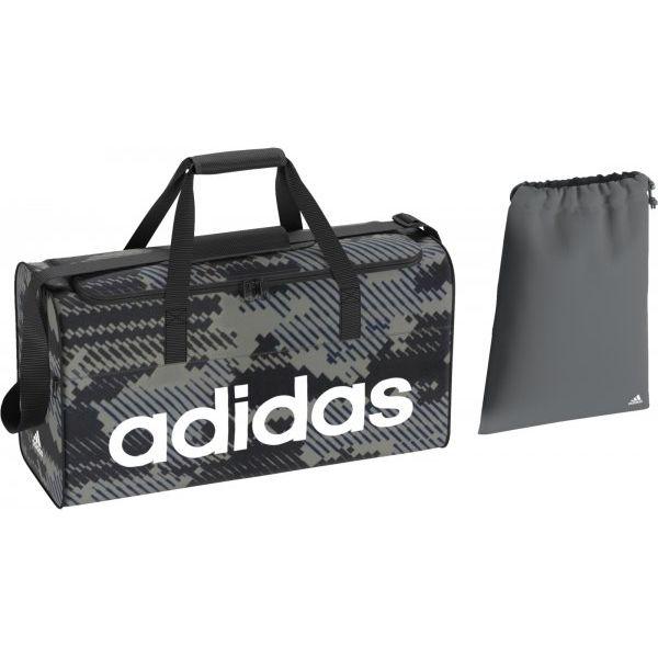 1ef787c7b09de Adidas Torba Sportowa Lin Per Tb M Gr Vista Grey/Black/White M - Torby  podróżne damskie marki Adidas. W wyprzedaży za 105.00 zł.