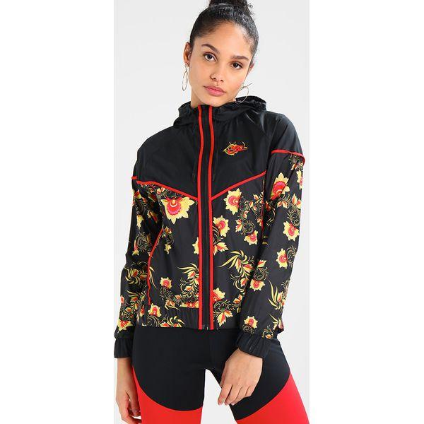 100% wysokiej jakości najwyższa jakość oficjalna strona Nike Sportswear FLORAL Kurtka wiosenna black