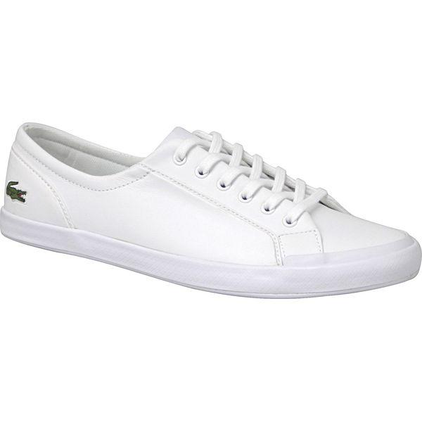 Lacoste Lancelle BL 1 SPW0135001 buty sportowe, trampki damskie białe 41