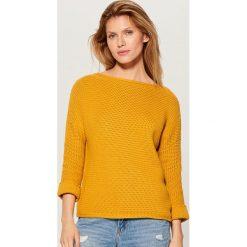 d890ebdebdf4 Sweter grubo pleciony - Swetry damskie - Kolekcja wiosna 2019 ...