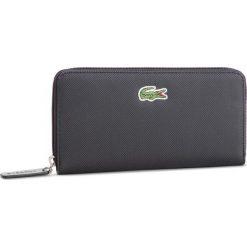 b01741022ff12 Duży Portfel Damski LACOSTE - L Zip Wallet NF2285PO Black 000. Portfele  damskie marki Lacoste